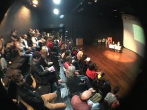 Palestra da Profª Drª Mônica Ribeiro da Silva sobre MP 746 no TELAB